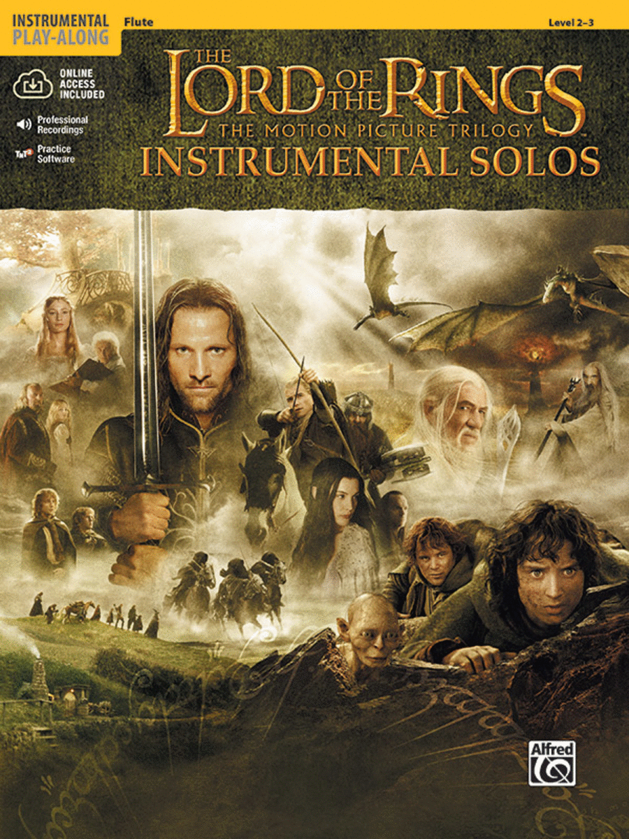 The Lord of the Rings - Instrumental Solos (Flute)