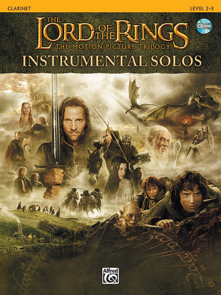 The Lord of the Rings - Instrumental Solos (Clarinet)