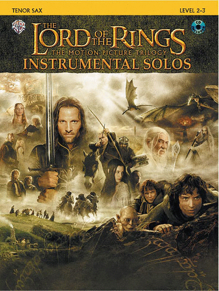 The Lord of the Rings - Instrumental Solos (Tenor Sax)