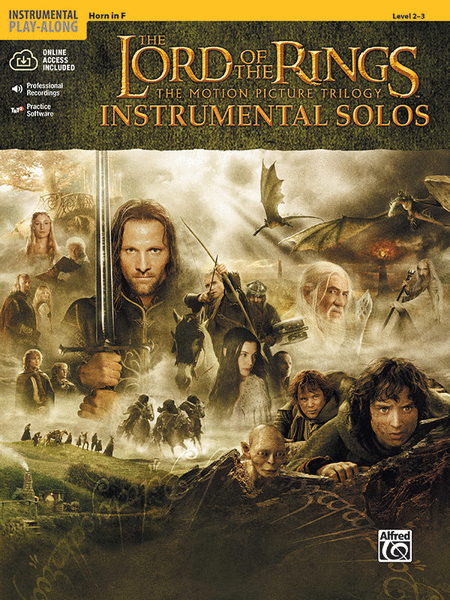 The Lord of the Rings - Instrumental Solos (Horn in F)