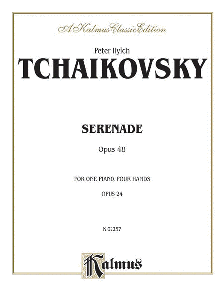 Serenade, Op. 48 (English) Paperback Book