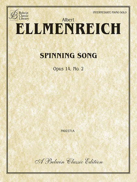 Spinning Song, Op. 14, No. 2