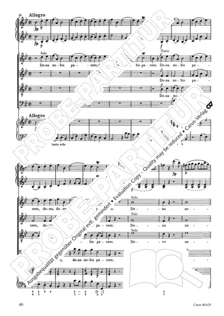 Missa brevis in B flat major