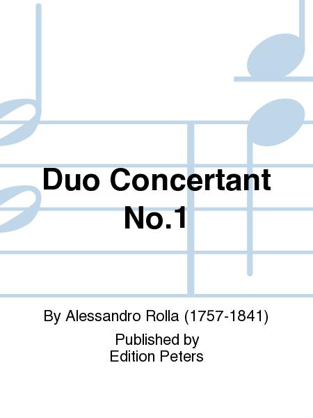 Duo Concertant No. 1