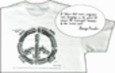 Agnus Dei (Peace Symbol) T-Shirt (XL)
