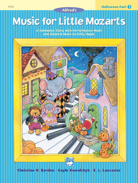 Music for Little Mozarts Halloween Fun, Book 3