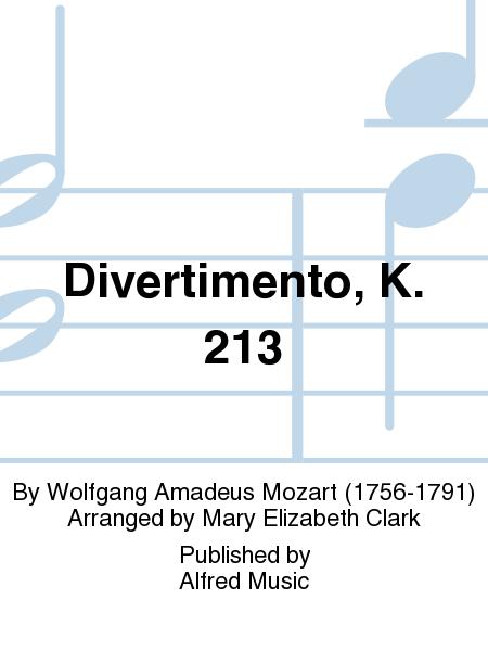 Divertimento, K. 213
