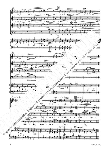 Mass in g minor