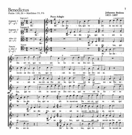 Berlioz: Veni Creator Spiritus; Brahms: Benedictus