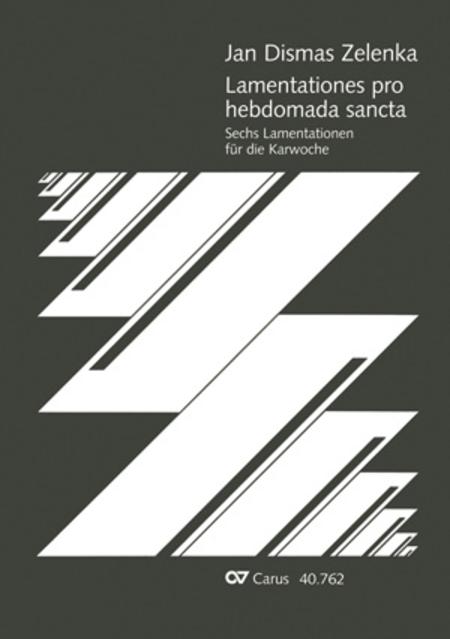 Lamentationes pro Hebdomada Sancta