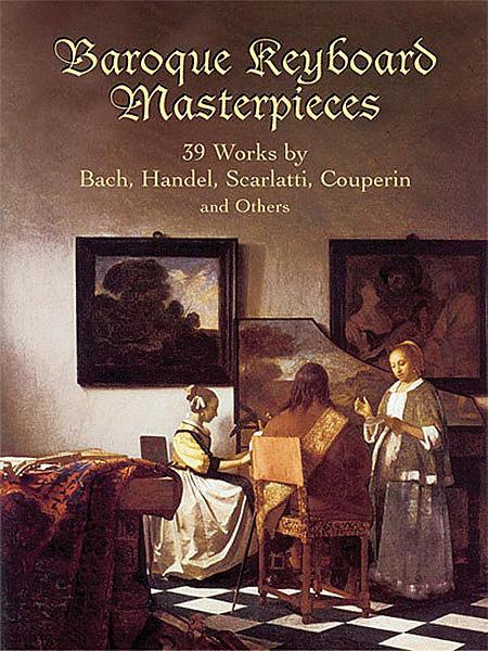 Baroque Keyboard Masterpieces Sheet Music Sheet Music Plus border=