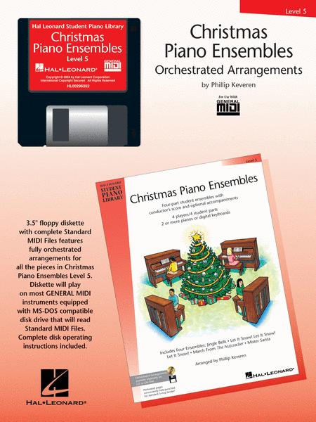 Christmas Piano Ensembles - Level 5 General MIDI Disk