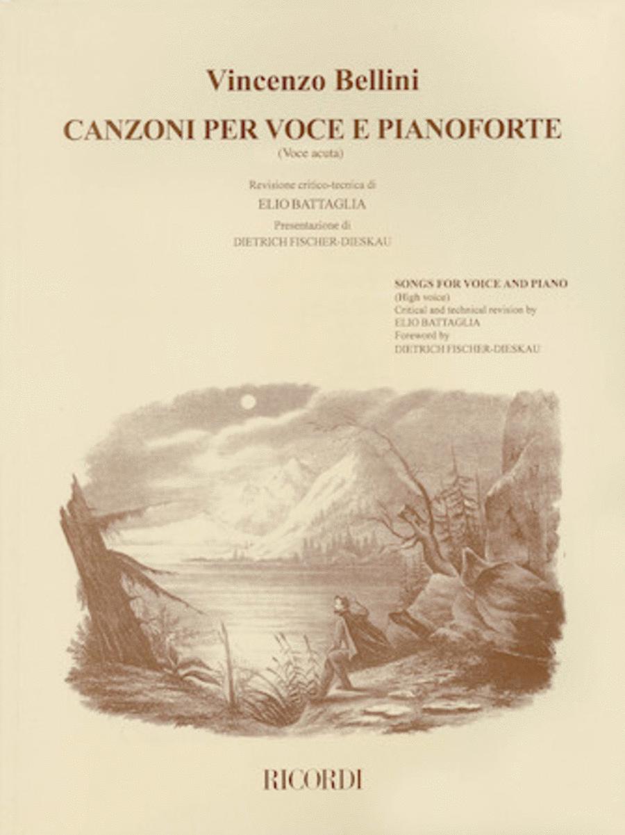 Canzoni Per Voce (High Voice)
