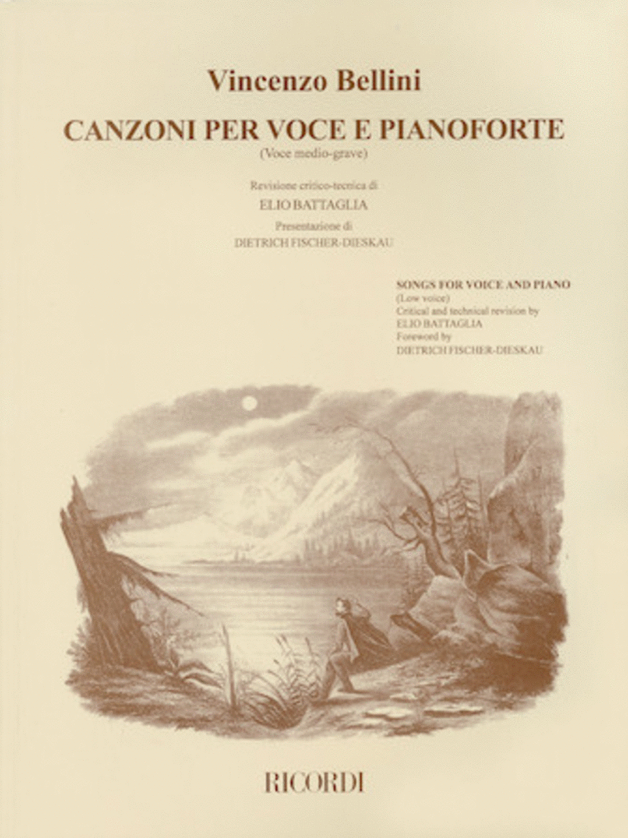 Canzoni Per Voce (Medium Voice)