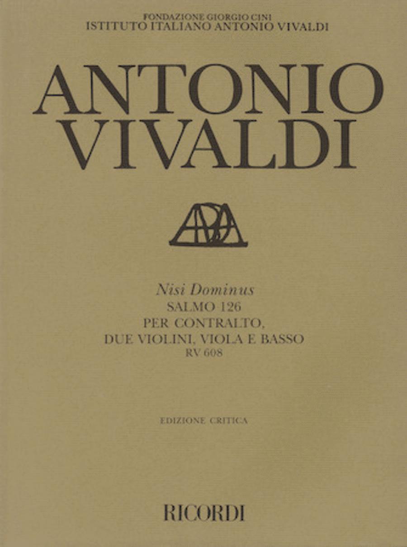 Antonio Vivaldi - Nisi Dominus