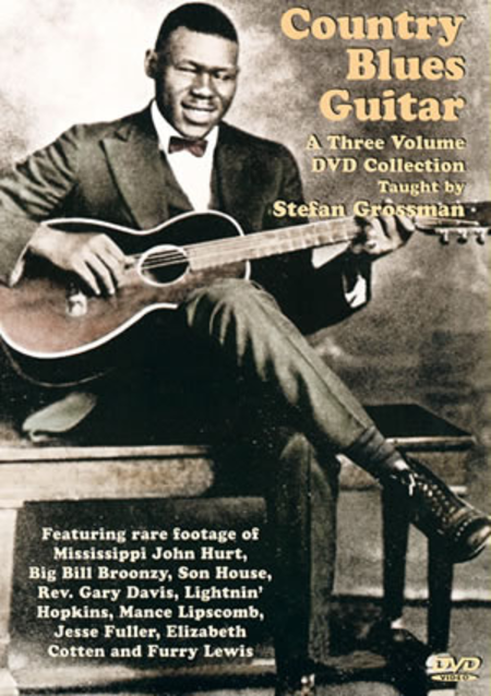 Country Blues Guitar 3-Volume DVD Set