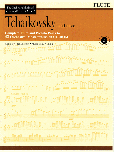 Tchaikovsky and More - Volume IV (Flute)