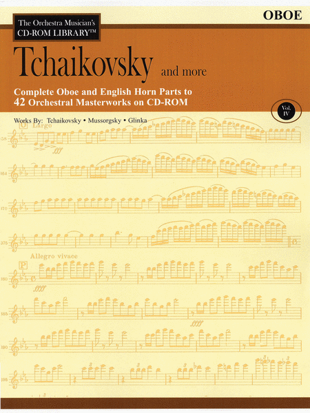 Tchaikovsky and More - Volume IV (Oboe)