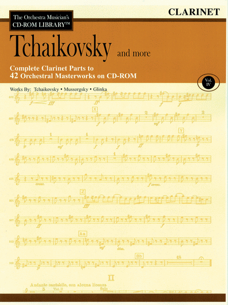 Tchaikovsky and More - Volume IV (Clarinet)