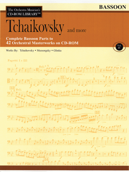Tchaikovsky and More - Volume IV (Bassoon)