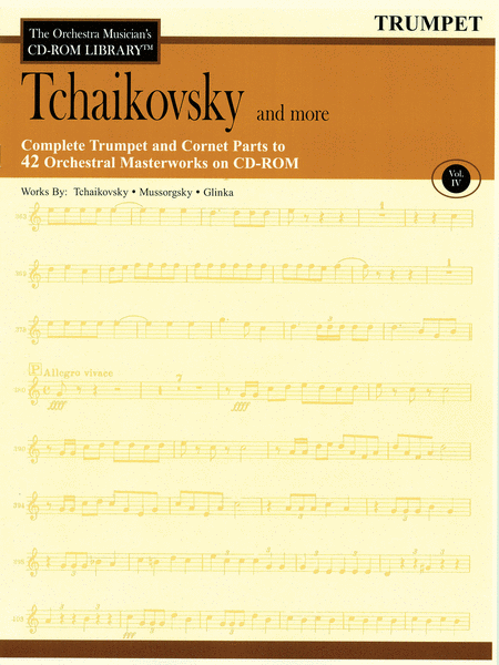 Tchaikovsky and More - Volume IV (Trumpet)