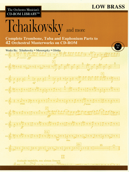 Tchaikovsky and More - Volume IV (Low Brass)