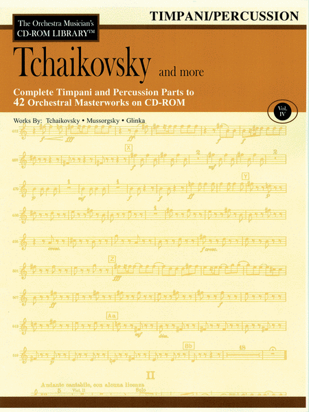 Tchaikovsky and More - Volume IV (Timpani/Percussion)