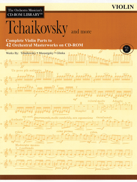 Tchaikovsky and More - Volume IV (Violin)