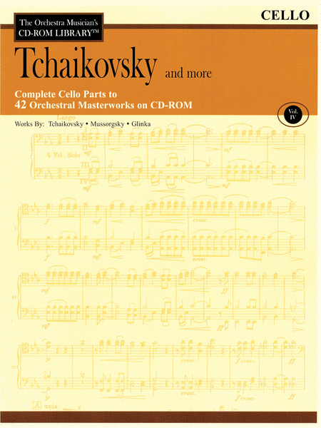 Tchaikovsky and More - Volume IV (Cello)
