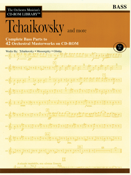 Tchaikovsky and More - Volume IV (Bass)