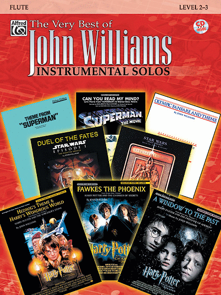The Very Best of John Williams - Flute (Book/CD)