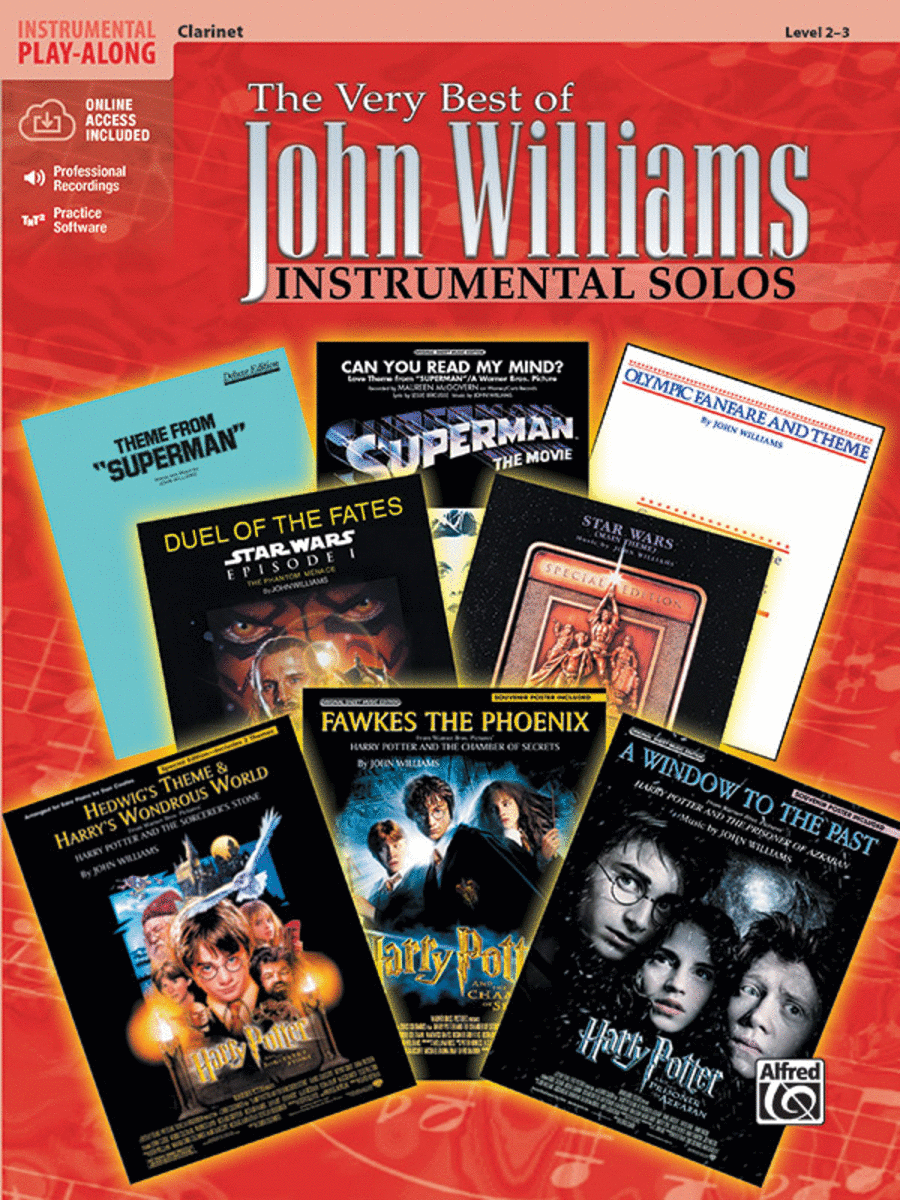 The Very Best of John Williams - Clarinet (Book/CD)