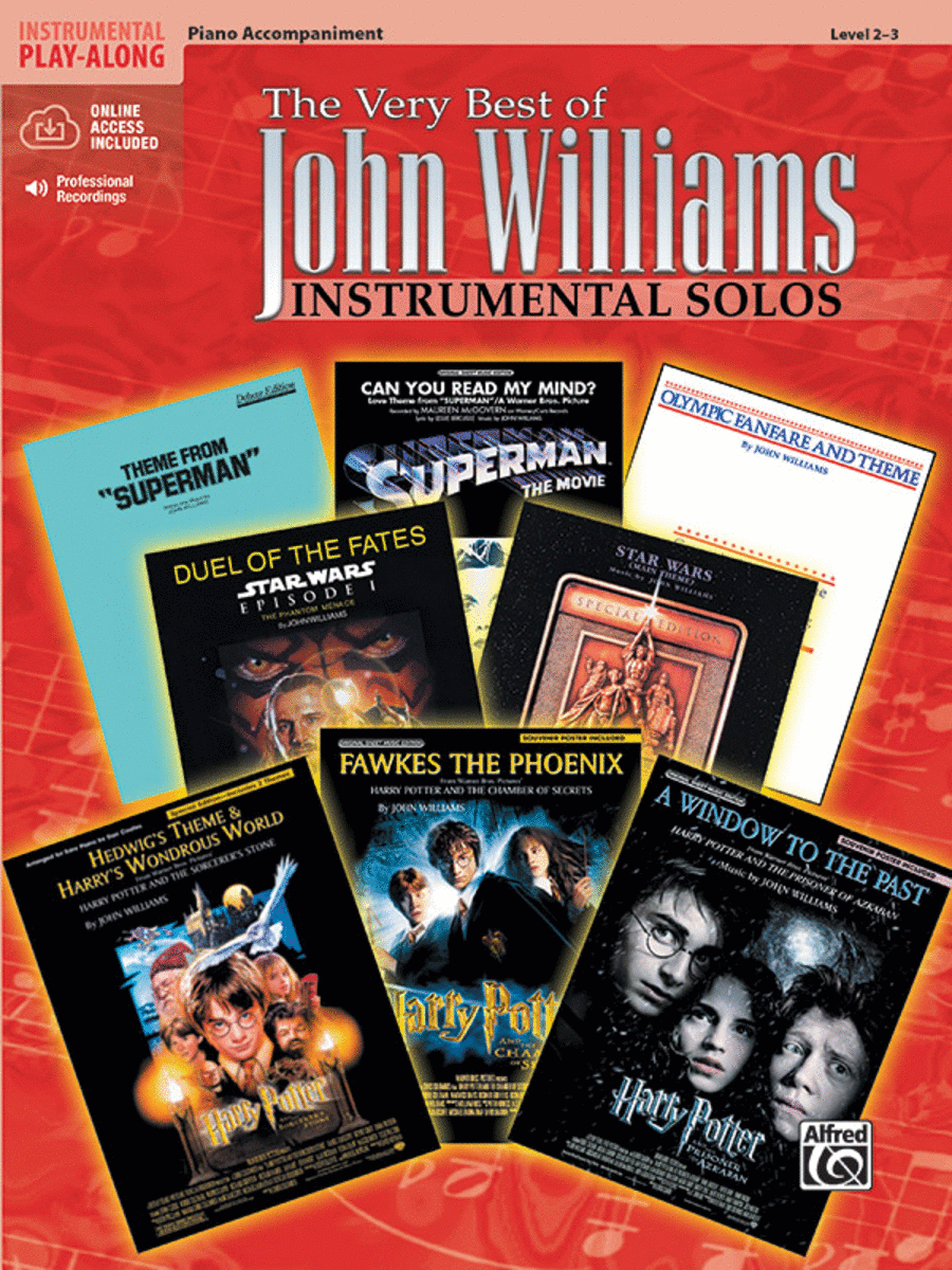 The Very Best of John Williams - Piano Accompaniment (Book/CD)