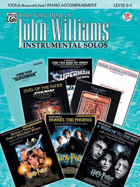 The Very Best of John Williams - Viola (Book/CD)