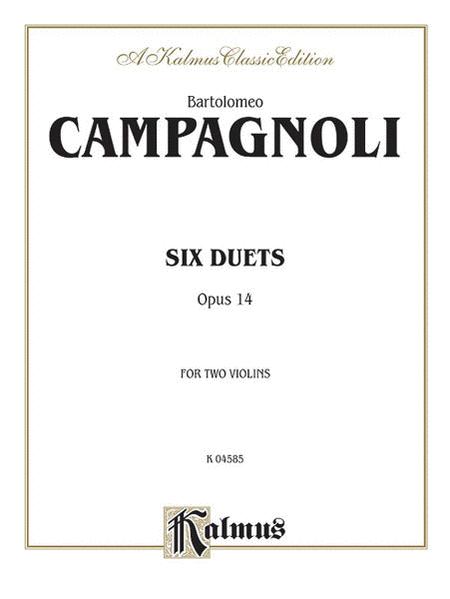 Six Duets, Op. 14