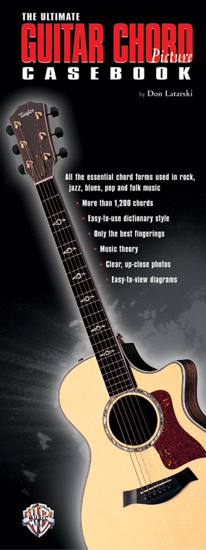 The Ultimate Guitar Chord Picture Casebook Sheet Music By