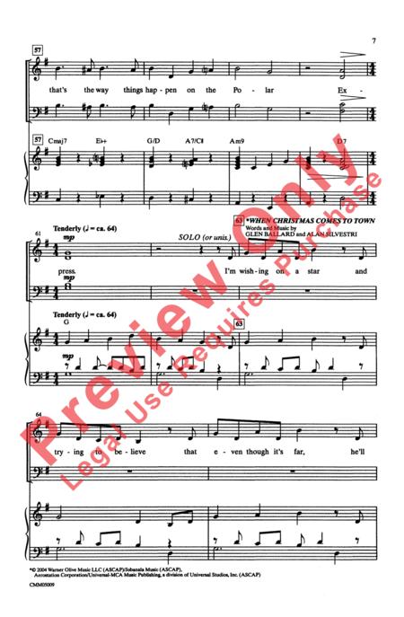 The Polar Express: A Choral Medley