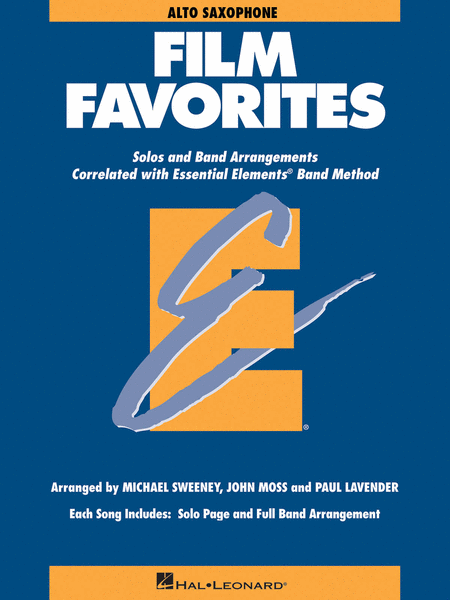 Film Favorites - Eb Alto Saxophone