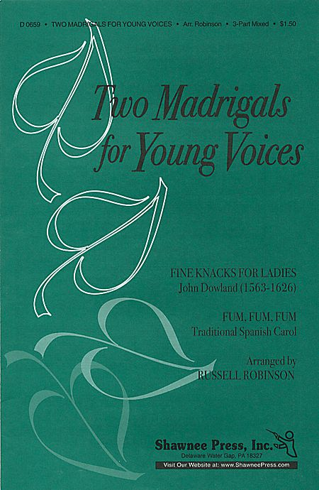 Two Madrigals for Young Voices