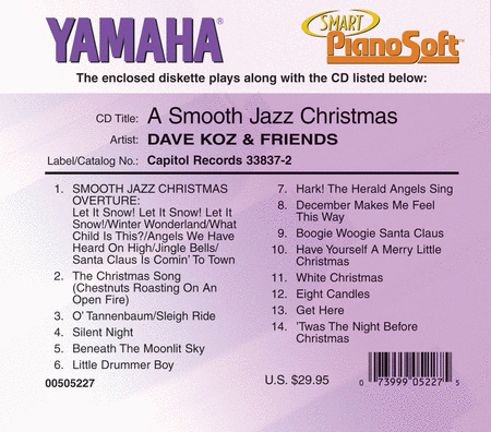 Dave Koz & Friends - A Smooth Jazz Christmas - Piano Software