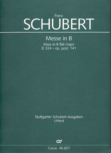 Mass in B (Messe in B)