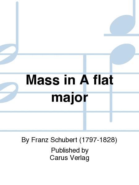 Mass in A flat major