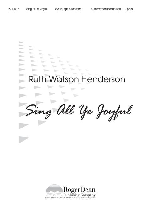 Sing All Ye Joyful