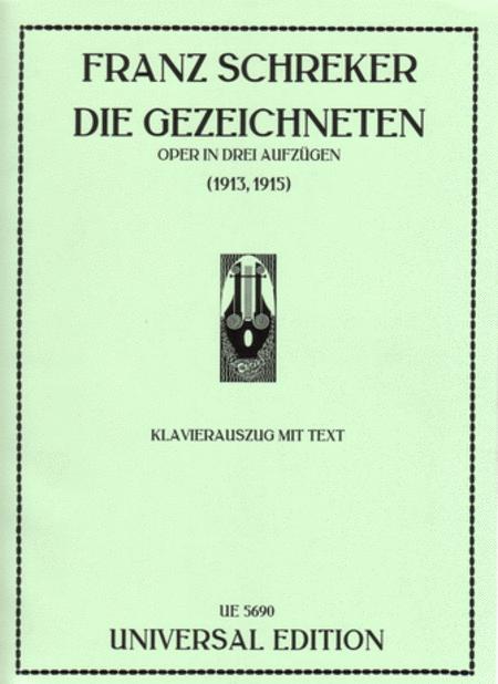 Gezeichneten, Vocal Score
