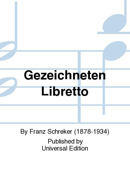 Gezeichneten Libretto