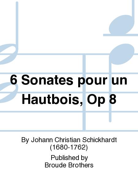6 Sonates pour un Hautbois, Op 8