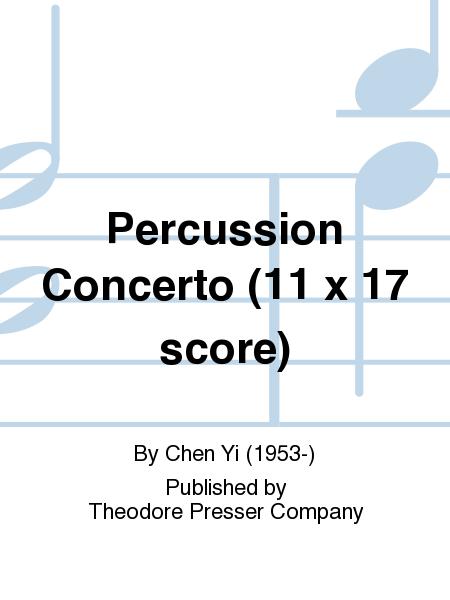Percussion Concerto (11 x 17 score)