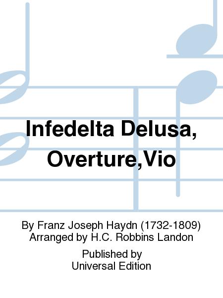 Infedelta Delusa, Overture,Vio
