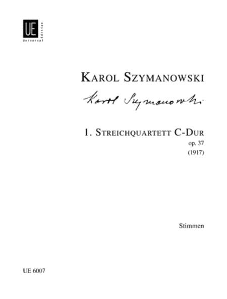 String Quartet 1, Op. 37 - set of parts