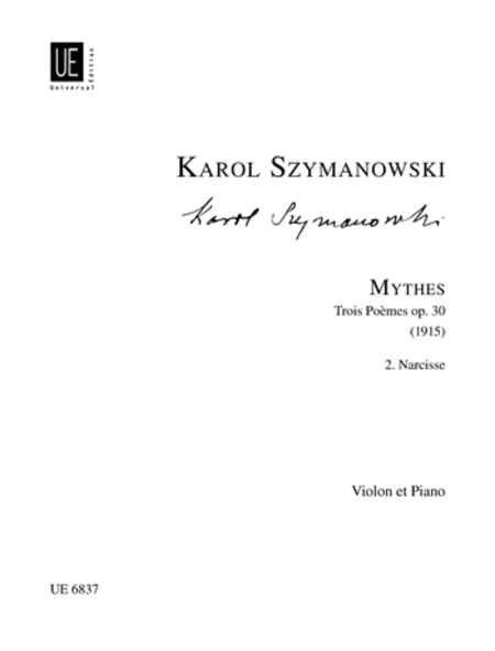 Narcisse, Op. 30/2 (Myth 2)
